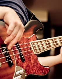 Bass Guitar Lessons in Southampton